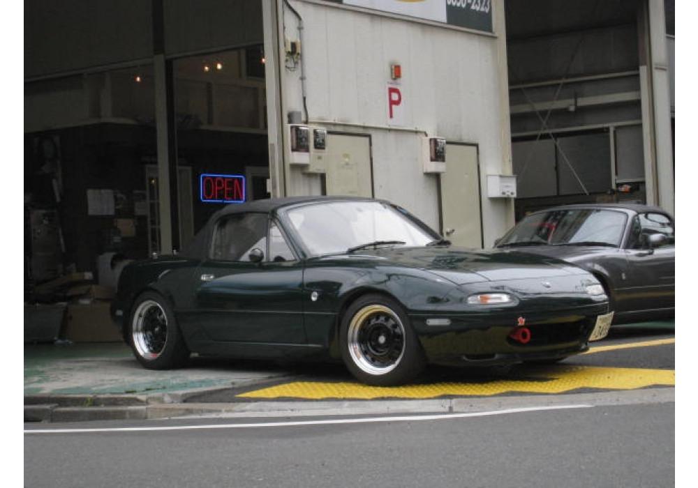 "Japan Car Logo >> Car Make Corn's Aluminum CMC-01 15"" Wheel For MX5   REV9"