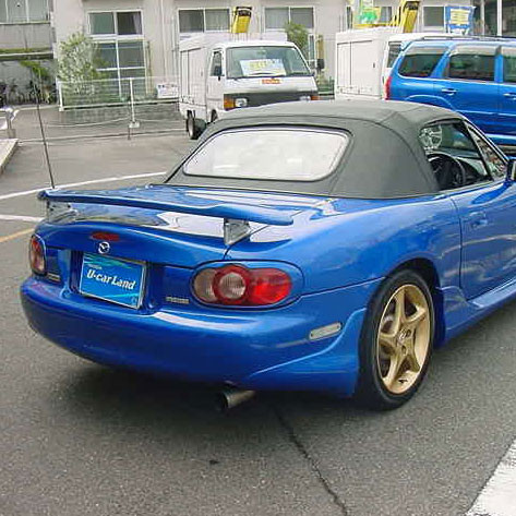 Mazdaspeed Japan-spec Rear Spoiler For Miata MX5 MX-5 89-05 JDM Roadster : REV9 Autosport