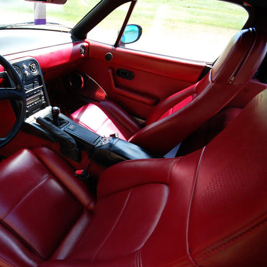 Zeromotive Seats Reupholstery Kit