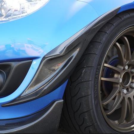 Zeromotive Carbon Front Canards For Miata MX5 MX-5 89-05 JDM Roadster : REV9 Autosport