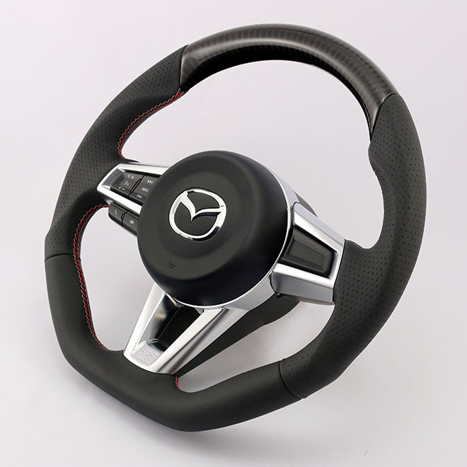 KenStyle Carbon Fiber Steering Wheel