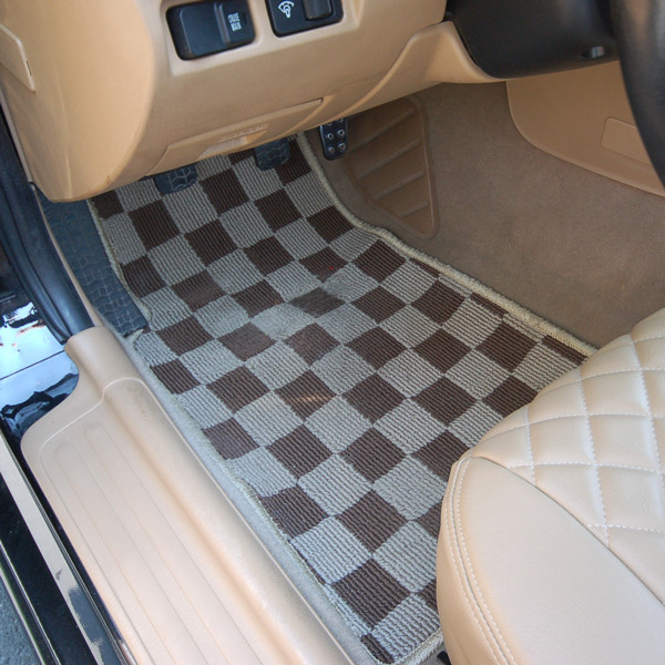 Zeromotive Checkered Floor Mats (Large Pattern) For Miata MX5 MX-5 1998-2005 JDM Roadster : REV9 Autosport