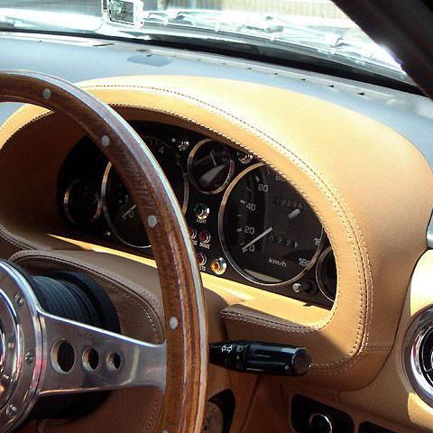 Nakamae Leather Gauge Hood