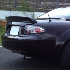 Jet Stream Rear Spoiler Type-1 For Miata MX5 MX-5 06+ JDM Roadster : REV9 Autosport