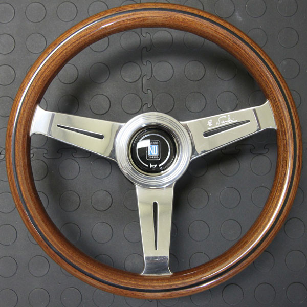 Nardi Classico Steering Wheel 330MM Wood With Polished Spokes For Miata MX5 MX-5 ALL YEARS JDM Roadster : REV9 Autosport