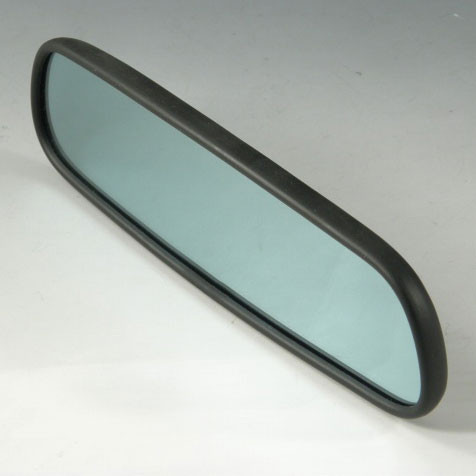 ZOOM Wide Blue Rear View Mirror