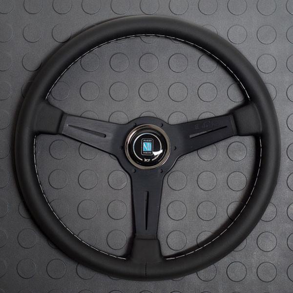 Nardi Classico Steering Wheel 330MM Black Leather With Black Spokes For Miata MX5 MX-5 ALL YEARS JDM Roadster : REV9 Autosport