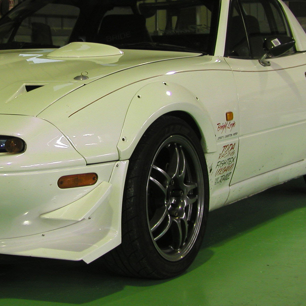 Car Make Corn's Original Fender Flares For Miata MX5 MX-5 89-97 JDM Roadster : REV9 Autosport