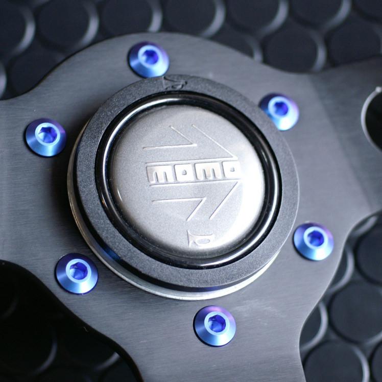 B-Titanium Steering Wheel Bolts For Miata MX5 MX-5 ALL YEARS JDM Roadster : REV9 Autosport