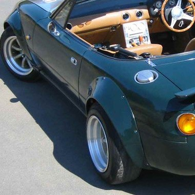 TRAP Fender Flares For Miata MX5 MX-5 89-97 JDM Roadster : REV9 Autosport