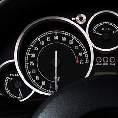 RS Products Gauge Faces Type-002 For Miata MX5 MX-5 06+ JDM Roadster : REV9 Autosport