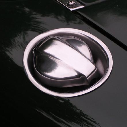 Zoom Retro Fuel Lid For Miata MX5 MX-5 89-05 JDM Roadster : REV9 Autosport