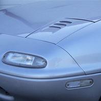 Garage Vary Headlight Air Intake Lid For Miata MX5 MX-5 89-97 JDM Roadster : REV9 Autosport