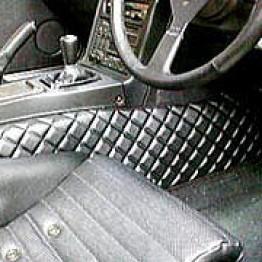 Nakamae Quilted Sidestep Interior Trim  For Miata MX5 MX-5 89-05 JDM Roadster : REV9 Autosport