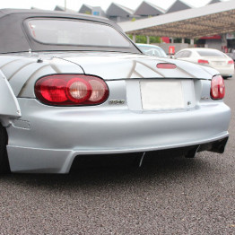 Shorin Rear Half Spoiler