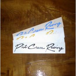 Pit Crew Sticker