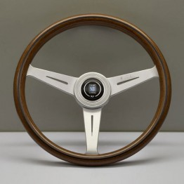 Nardi Classico Steering Wheel 360MM Wood With Satin Spokes