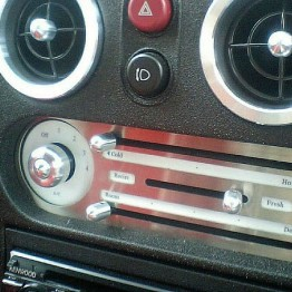 Zeromotive Air Conditioning Dials & Knobs