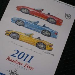 Bow's Roadster Days 2011 Calendar For Miata MX5 MX-5 ALL YEARS JDM Roadster : REV9 Autosport