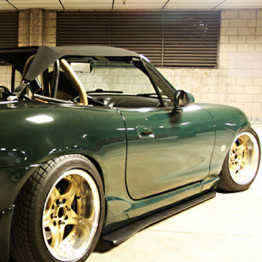 Project-G Side G-Fuser For Miata MX5 MX-5 98-05 JDM Roadster : REV9 Autosport
