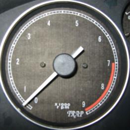 TRAP Gauge Faces Type-1 For Miata MX5 MX-5 89-97 JDM Roadster : REV9 Autosport