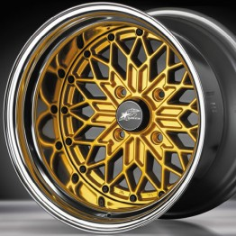 "Star Road GLOW STAR MS-G 15"" Wheel"