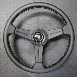 Nardi Classico Steering Wheel 340MM - Black Leather With Black Spokes