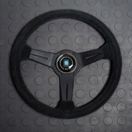 Nardi Classico Steering Wheel 330MM Black Suede With Black Spokes For Miata MX5 MX-5 ALL YEARS JDM Roadster : REV9 Autosport