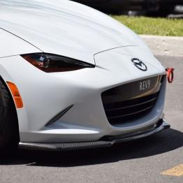 TK Style Carbon Fiber Front Lip