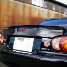 RS Factory Stage Ducktail Spoiler For Miata MX5 MX-5 98-05 JDM Roadster : REV9 Autosport