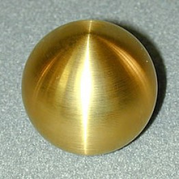 Nielex Round Brass Shift Knob