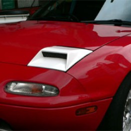 Arrive Headlight Air Intake Lid For Miata MX5 MX-5 89-97 JDM Roadster : REV9 Autosport