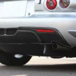 Jet Stream Rear Bumper Upper Diffuser For Miata MX5 MX-5 98-05 JDM Roadster : REV9 Autosport