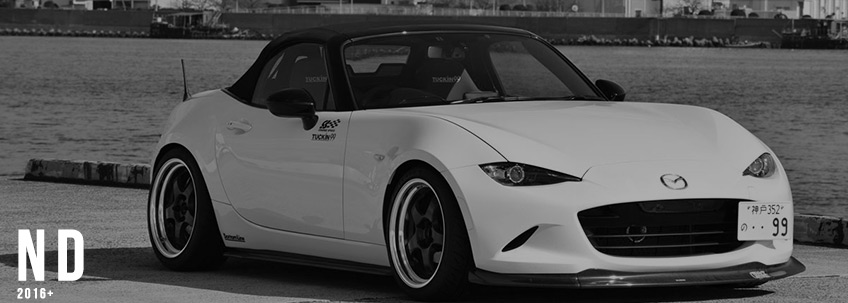 Mazda Miata Parts >> Mazda Mx5 Miata Nd Aftermarket Performance Parts 2016