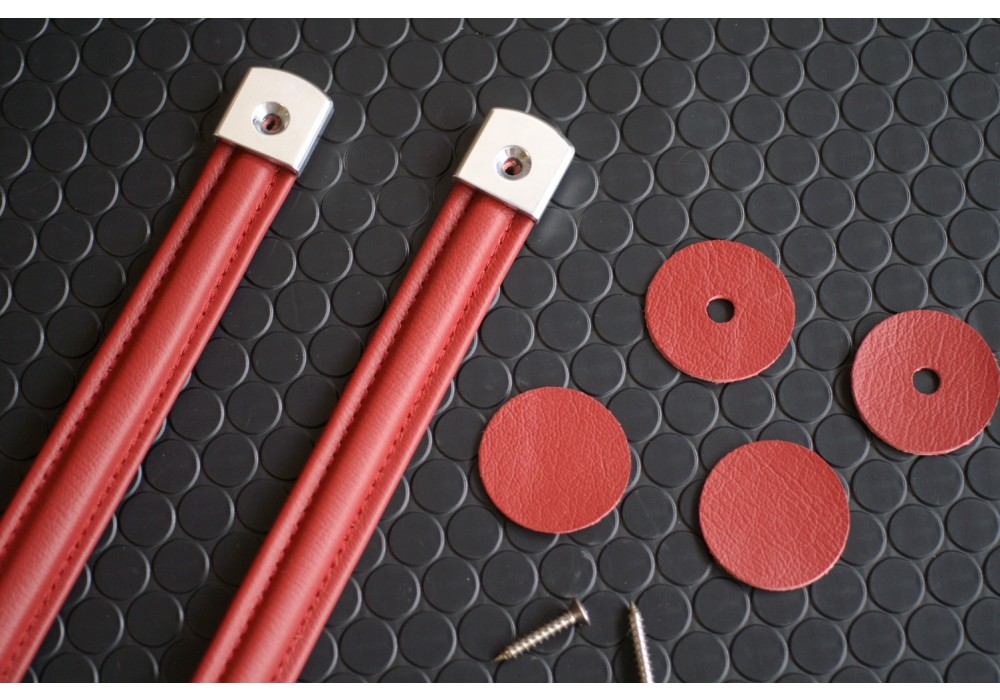 ... Nakamae Classic Leather Door Pulls For Miata MX5 MX-5 89-05 JDM Roadster & Nakamae Classic Leather Door Pulls For Miata MX-5 | REV9