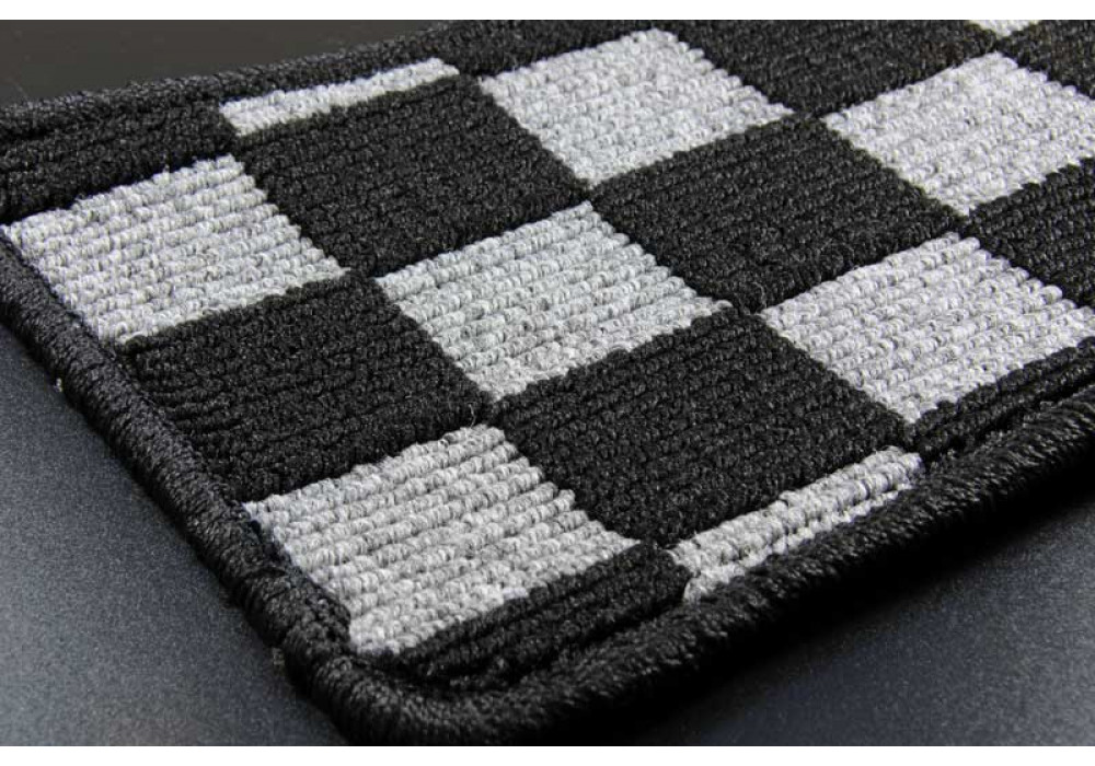 Zeromotive Checkered Floor Mats Large Pattern For Mx 5