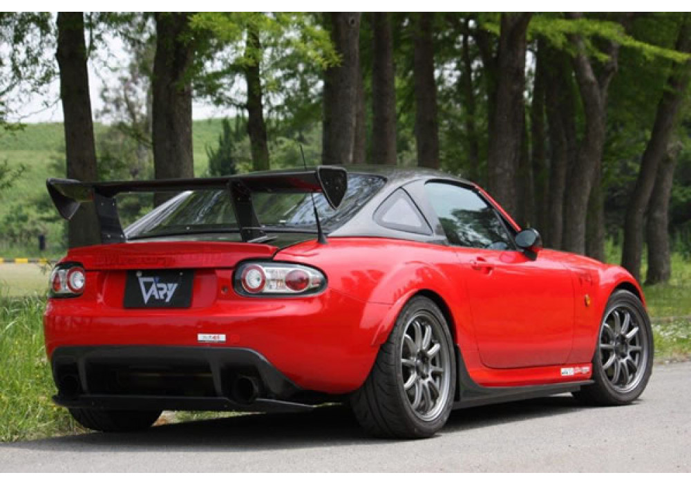Garage vary racing gt wing for mazda miata mx5 nc rev9 for Garage gt auto
