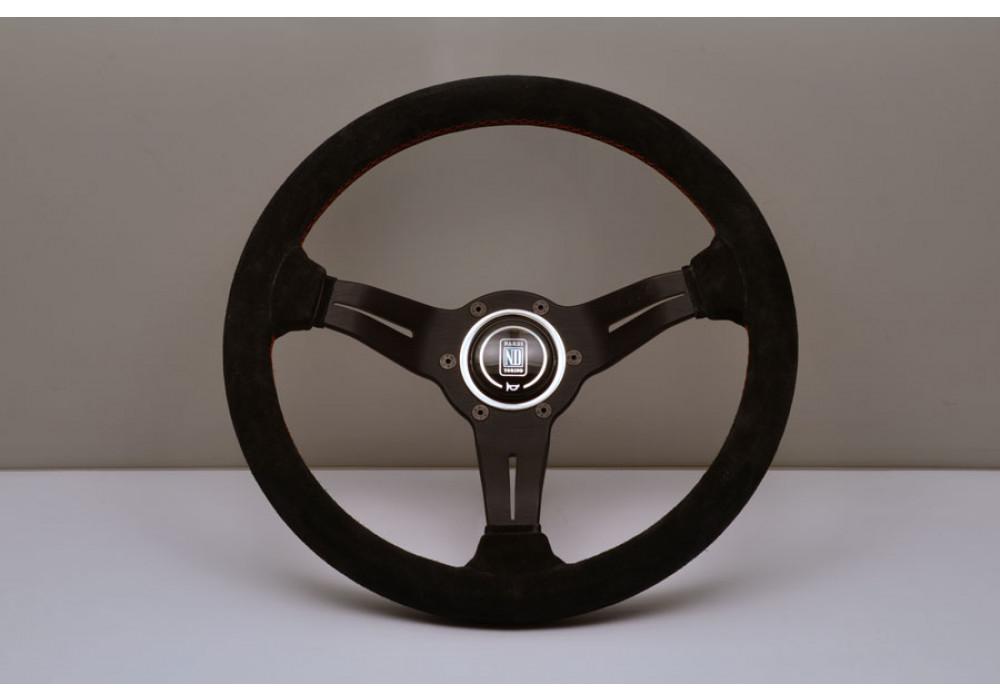 Nardi Deep Corn Steering Wheel 330MM Black Suede With ...
