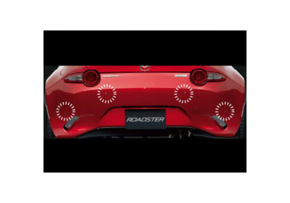Back Up Sensors >> Mazda Backup Parking Sensors For Miata MX-5 2016+ | REV9