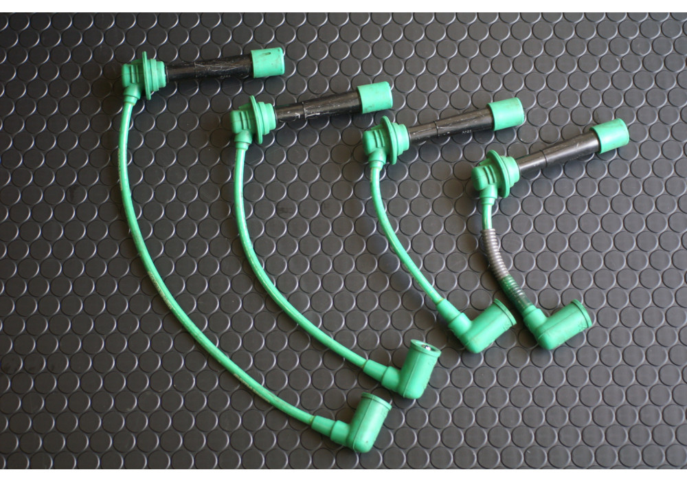 Mazdasd Green Plug Wires For Miata MX-5 | REV9 on miata oil pan, miata heads, miata wiring harness, miata crank sensor, miata throttle body, miata radiator, miata starter, miata fuel pump, miata wheels, miata coil on plug,