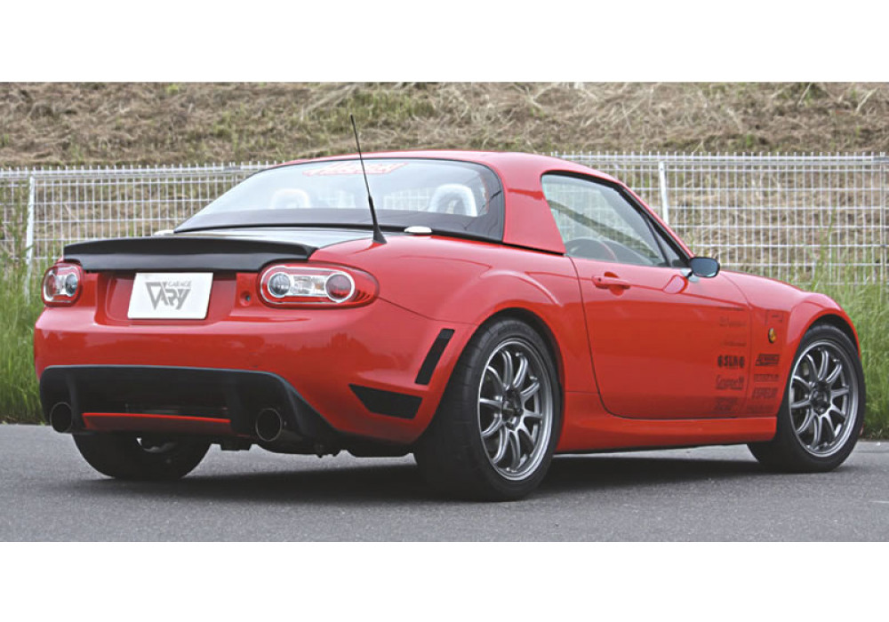 garage vary rear spoiler type 3 for miata mx 5 nc rev9. Black Bedroom Furniture Sets. Home Design Ideas