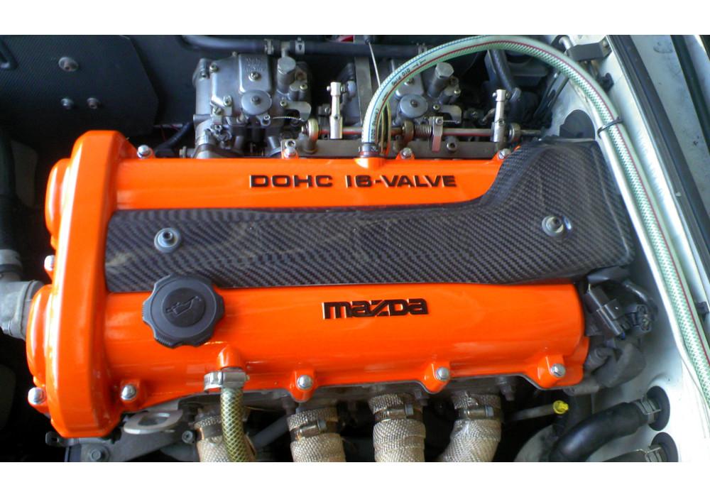 Jet stream carbon fiber plug cover for miata mx rev