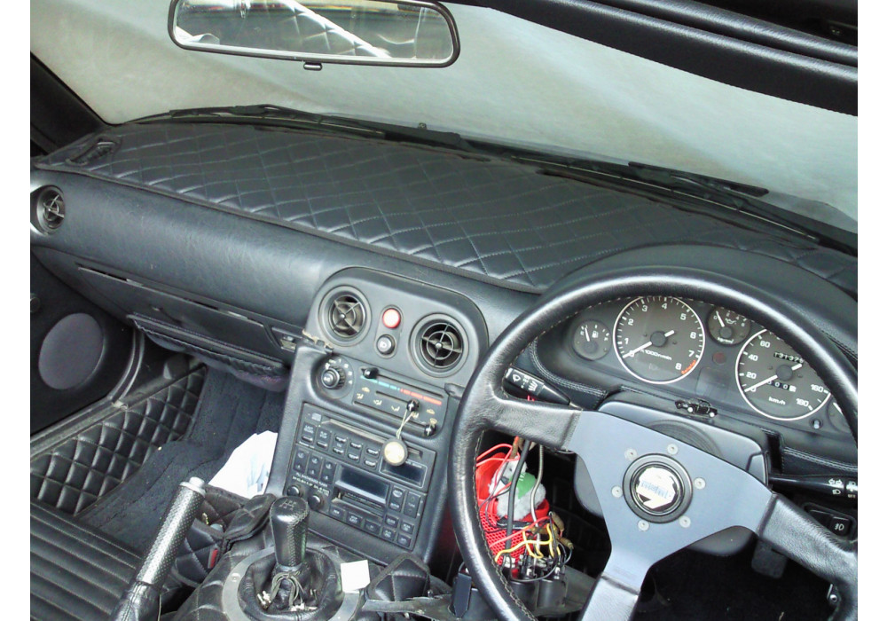 Nakamae Dashboard Cover For Mazda Miata Mx5 89 97 Rev9
