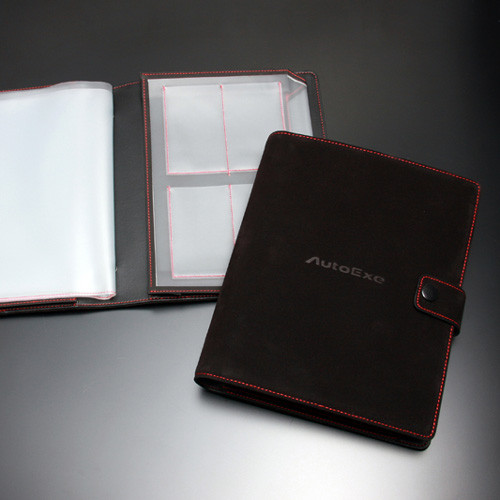 Autoexe Suede Documents Holder