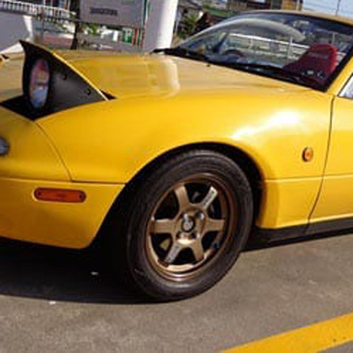 "Rays Volk Racing TE37 14"" Wheel"
