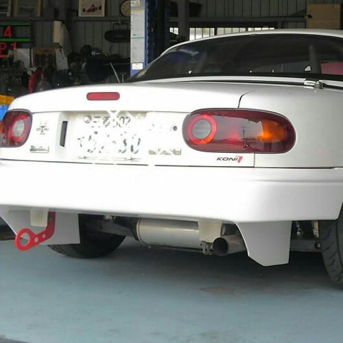 Garage Vary Type-N (T-N) Rear Bumper