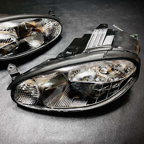 Shinkai Racing Black Housing Headlights