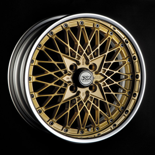 "SSR Formula Mesh 16"" Wheel"