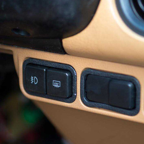 Mazda Defroster / Fog Lights Switches (Combo)