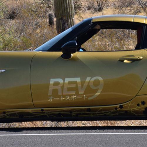 REV9 Door Decals